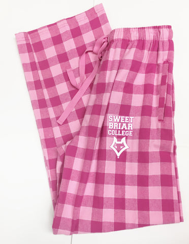 Pink Plaid Flannel Lounge Pant