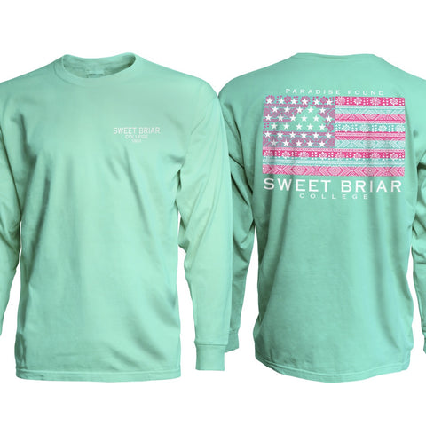 Long Sleeve Pigment Tee Island Reef