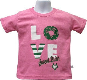 Youth Tee Shirt LOVE Sweet Briar Vixen Logo