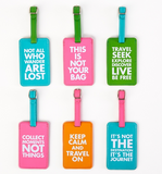 Chit Chat Luggage Tags