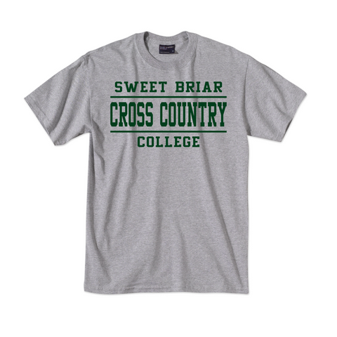 Short Sleeve Tee Shirt Cross Country