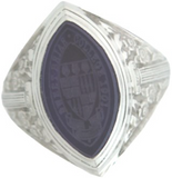 Class Ring with Stone