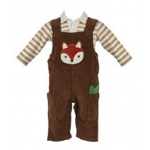 Rusty the Fox Overalls