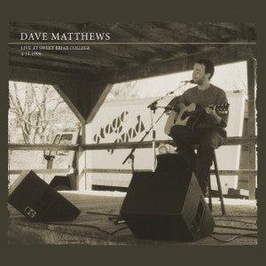 Dave Matthews 2-CD Set | Live at Sweet Briar College April 1996