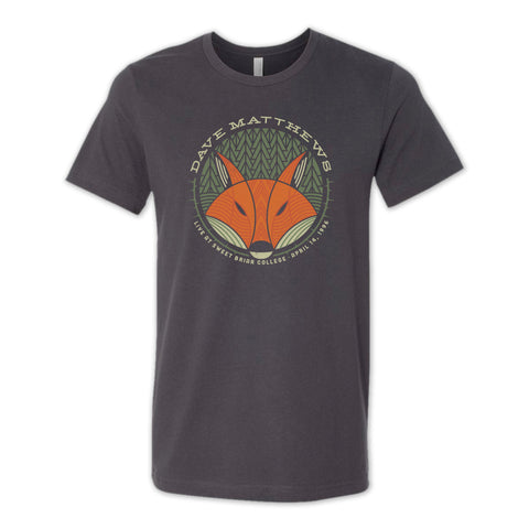 Dave Matthews Mens/Unisex Tee | Live at Sweet Briar College April 1996