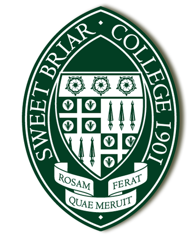 Sweet Briar Crest Decal - Green