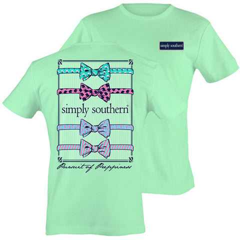 T Shirt Simply Southern Julep Bow Ties