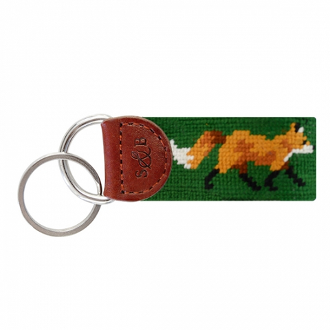 Key Fob Fox on Dark Forest