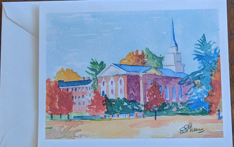 Note Card Memorial Chapel in Color