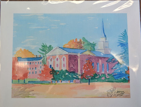 Art Print Sweet Briar Chapel