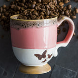 Mug With Butterflies