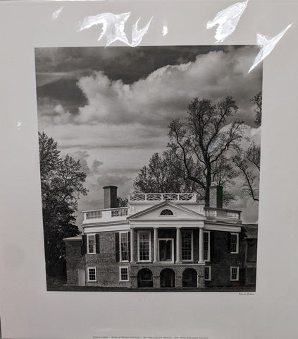 Art Print Jefferson's Home