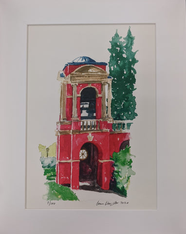 Art Print Bell Tower