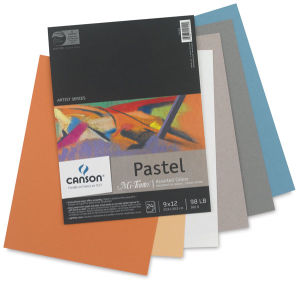 "Paper Canson Mi Teintes Drawing Papers Assorted 12""x16"""