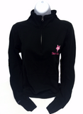 1/4 Zip Sweatshirt with Vixen Logo