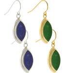 Earrings Drop with Class Stone