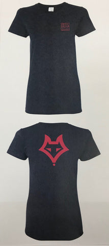 Short Sleeve Tee Shirt Equestrian With Vixen