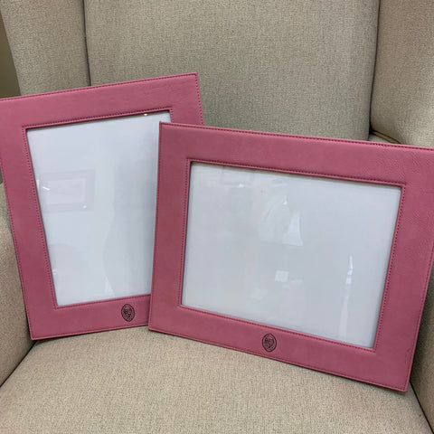 Leatherette 8 X 10 Photo Frames Pink