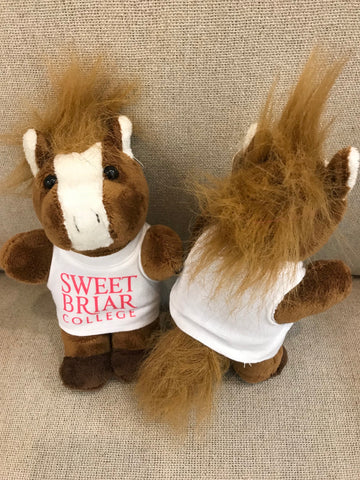 Bean Bag Plush Horse With Tee Shirt