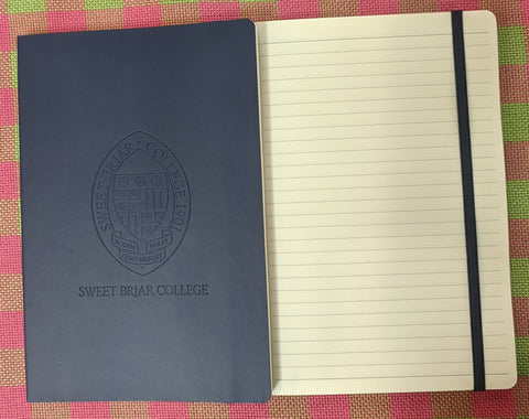 Journal Navy Blue With Seal