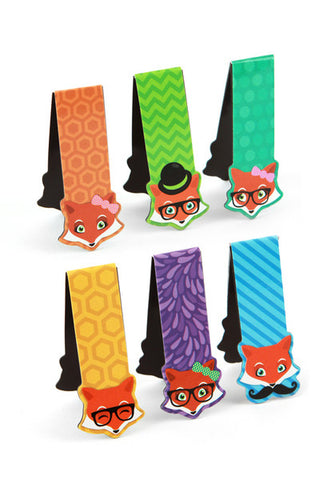 Foxtrot Magnetic Bookmarks
