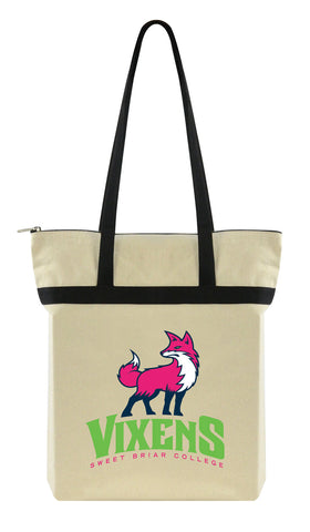 Tote Zippered With New Vixen