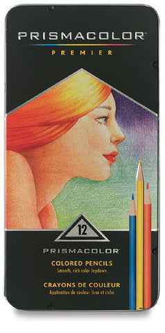 Pencil Prismacolor Color Assorted Set of 12