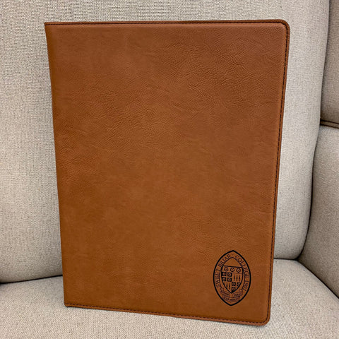 Leatherette 9 X 12 Legal Portfolio Rawhide