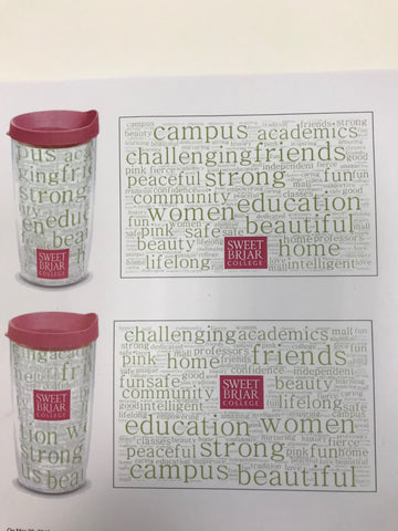 Tervis Tumbler Word Cloud