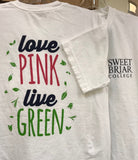 "Short Sleeve Tee Shirt ""Love Pink..."""