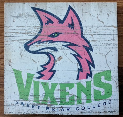 Wood Block Fierce Vixen