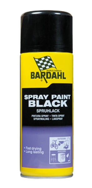 Bardahl Lakspray Blank Sort 400 ml.-Spray-SkanOil