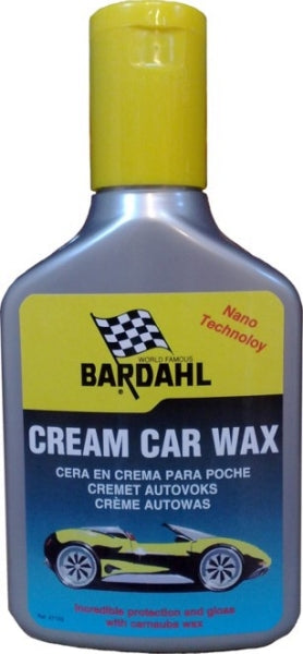 Bardahl Cream Car Wax 300 ml.-Bilpleje-SkanOil