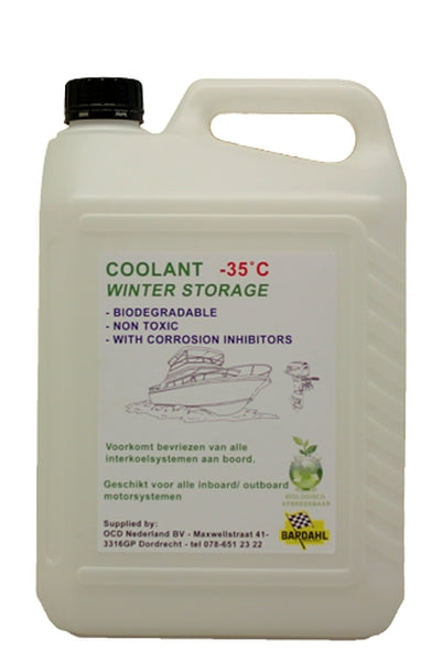 Bardahl Coolant Winter Storage 5 ltr.
