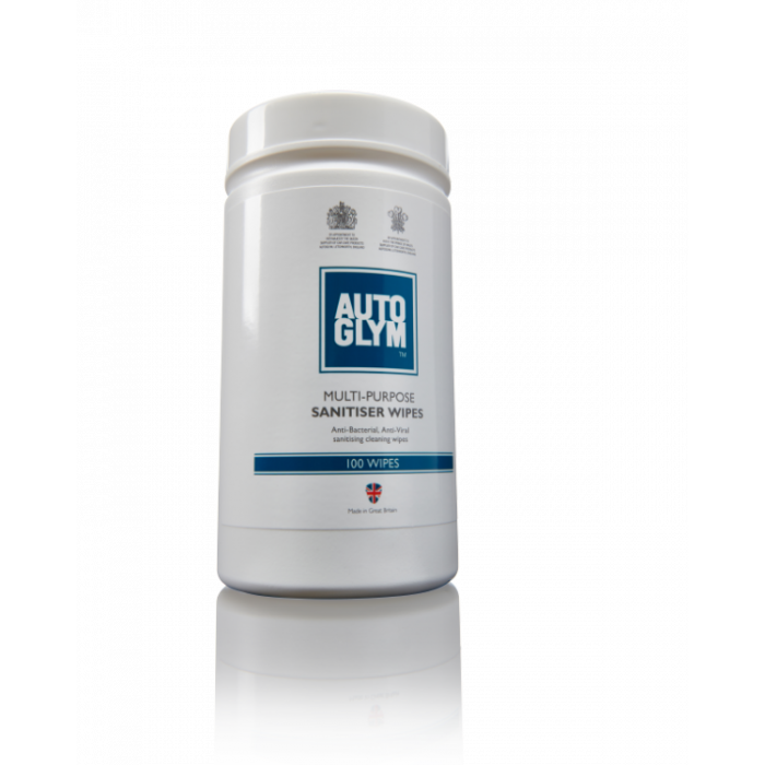 Autoglym Multi Surface San Wipes 100 Stk.