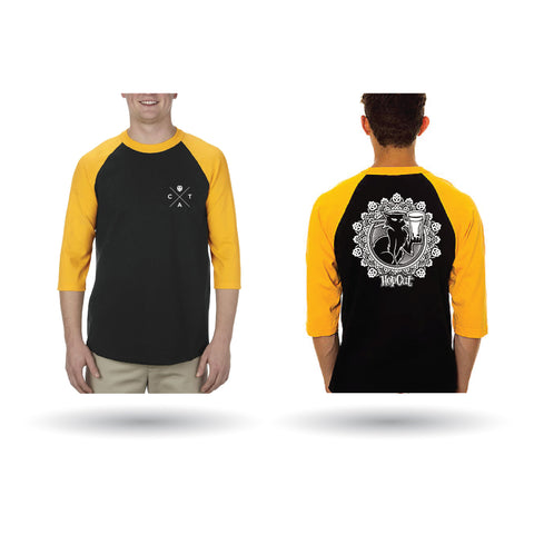 HopCat Graphic Baseball Tee