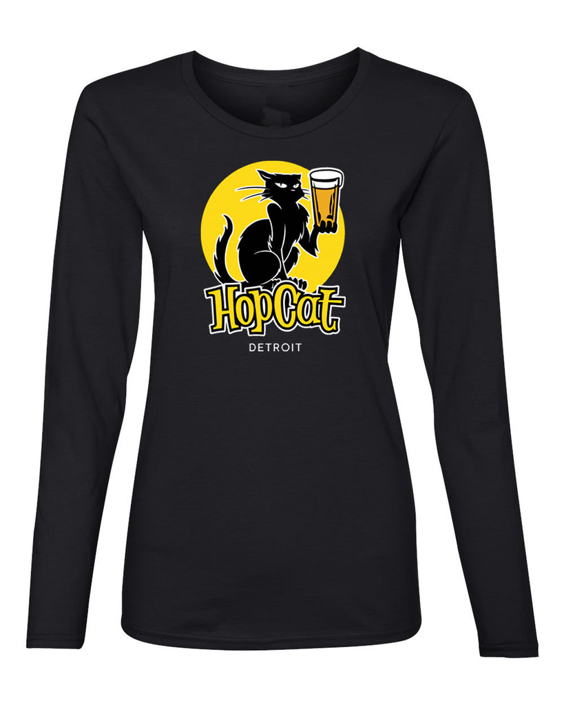 Det Womens Long Sleeve Tee