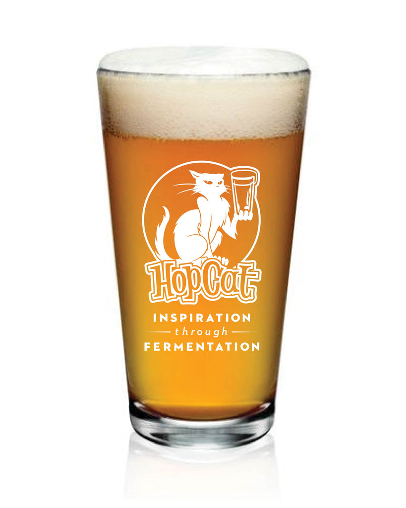 HopCat Inspiration Pint Glass