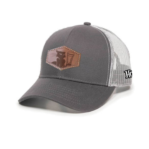 2ad6aefacb3 HopCat Patch Trucker Hat