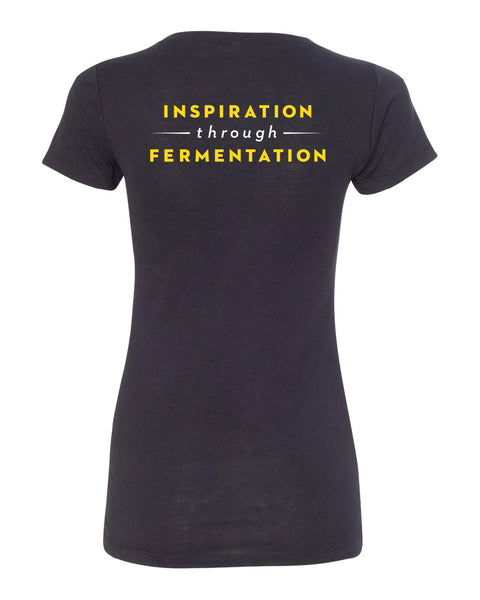 Women's Black Short-sleeve Inspiration Tee