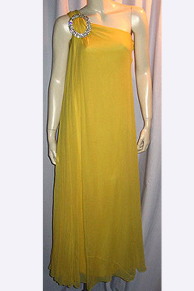 1960s Jacques Heim Chiffon Gown