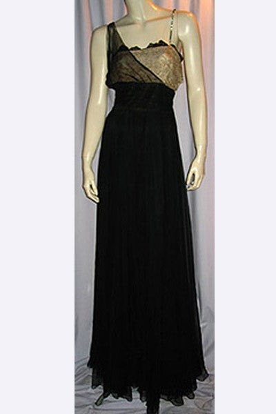 1940s Traina Norell Evening Gown