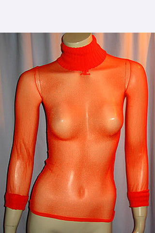 1970s Courreges Nylon top
