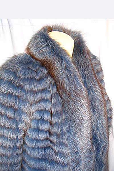 1970s Stephen Burrows Fox Jacket