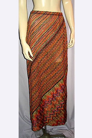 1970s Missoni Lurex Skirt