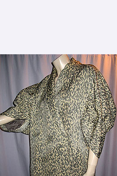 1950s Jacques Fath Silk Coat
