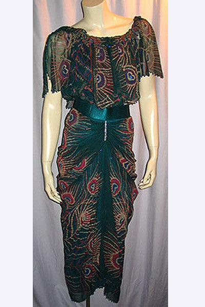1980s Zandra Rhodes Dress