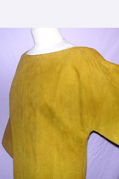 1950s Bonnie Cashin Suede Dress