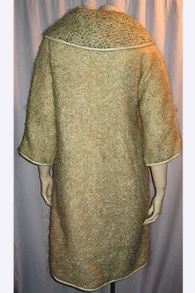 1950s  Bonnie Cashin Mohair Dress & Coat Set