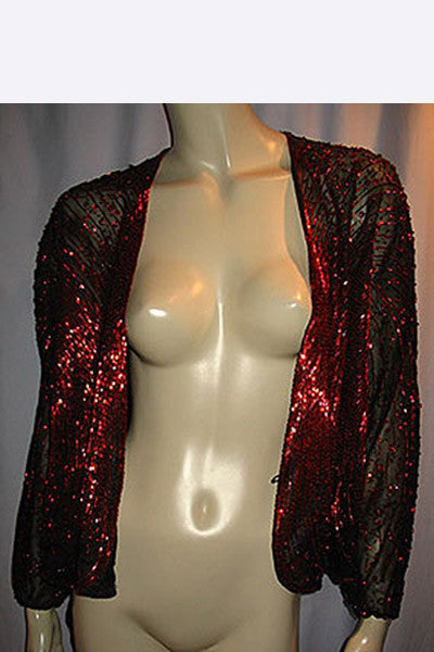"1970s Halston ""Fireworks"" Beaded Jacket"